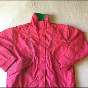 VTG 90s the company store color block jacket